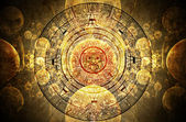 Maya prophecy — Stock Photo