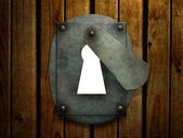 Retro keyhole — Photo