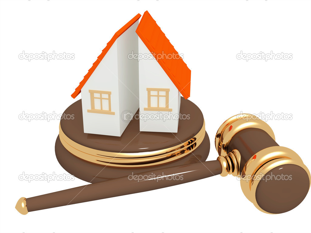 Conceptual image - division of property at divorce — Stock Photo #3044655