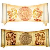 Maya calendar — Stock Photo