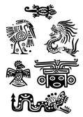 Amerikan kızılderili ulusal desenleri — Stok Vektör