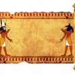 Anubis and Horus - Stockfoto