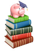 Money for education — Stock Photo