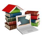 Education through the Internet — Stock Photo