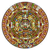 Calendário maia — Fotografia Stock