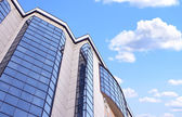 High-altitude office building — Stock Photo