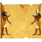 Anubis and Horus — Stock Photo #3550048