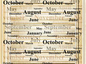 Months — Stock Photo