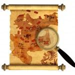 Pirate map — Stock Photo #3828073