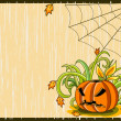 Royalty-Free Stock Векторное изображение: Vector Halloween background