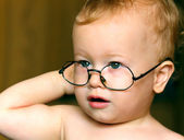 Baby sunglasses — Stock Photo