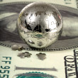 Dollar and globe. — Stock Photo #2736126