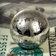Dollar and globe. — Stock Photo #2736141