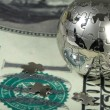 Dollar and globe. — Stock Photo #2736162