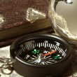 Compass on the old map — Stock Photo #2769957