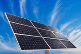 太陽光発電プラント — ストック写真