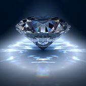алмаз драгоценный камень — Стоковое фото