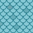 Seamless vector texture - fish scales — Stock Vector
