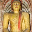 Stock Photo: Statue of Buddhat Dambullcave temple complex,Sri LankUnes