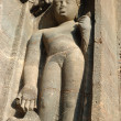 Buddha statue at Ajanta, famous cave temple complex ,India - Stock fotografie