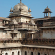 Stock Photo: Inside Raj Mahal palace at Orch,India,MadhyPradesh