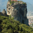 Stock Photo: Holy Trinity (AgiTriada)rock monastery,Meteora,Greece