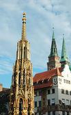 Old Nuremberg gothic broaches — Zdjęcie stockowe