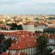 Stock Photo: Old Prague cityscape panoram- unesco heritage site