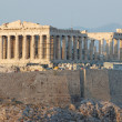 Parthenon temple in Greece,the place where democracy was born - Stock Photo