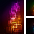 Abstract glowing background — Stockvectorbeeld