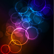 Abstract glowing background — Image vectorielle