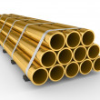 Metal pipes — Stock Photo #2823674