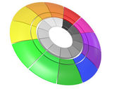 Colour circle — Stock Photo