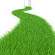 Stock Photo: Green way