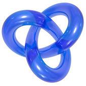 Toroidal knot — Stock Photo