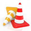 Traffic cone - Stockfoto