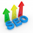 seo - search engine — Stock Photo