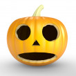 Royalty-Free Stock Photo: A scary old pumpkin