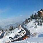 Les Arc - Alpine Skiing Resort — Stock Photo