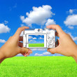 Stock Photo: Digital camera