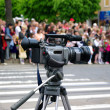 Stock Photo: Video camera