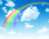 A bright rainbow — Stock Photo