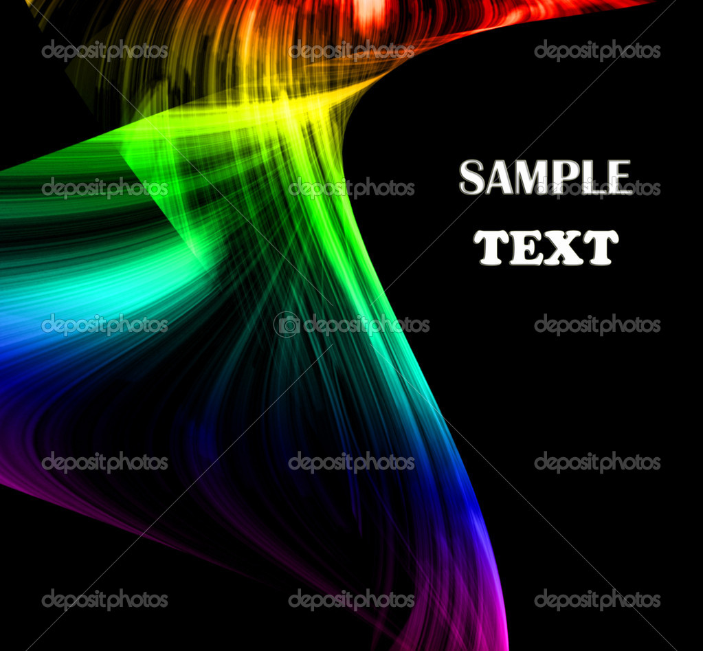 Abstract mystical multi colored smoke — Stock Photo #3195578
