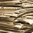 Newspapers — Stock Photo #3076991