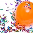 Balloons and confetti — Stock Photo #3578503