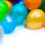 Colourful balloons — Stock Photo
