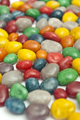 Colorful chocolat tabs — Stock Photo