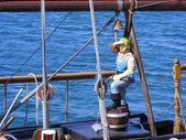 Figuur van de zee corsair — Stockfoto