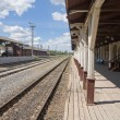 Provincial Railway Station - Stock Photo