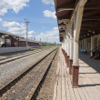 Stock Photo: Provincial Railway Station